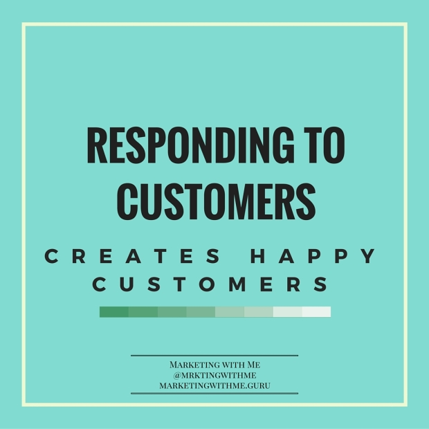 Respond to customers